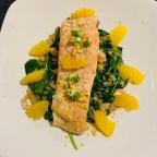 Sesame Orange Salmon